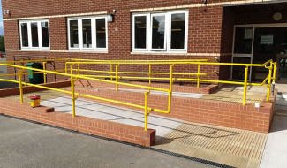 Part M Compliant Handrail - Building Regulations