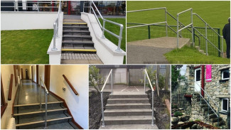 5 Handrails For Safe Access On Dangerous Steps