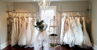 Bespoke Clothing Rails For Wedding Dresses