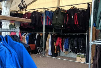Dublin Horse Show Clothing Rail Display - PC Racewear