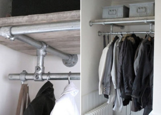 DIY Clothing Rail Solutions for Walk-In Wardrobes