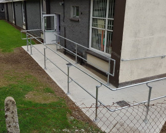 Safe Access Handrail-St Mary's Special School