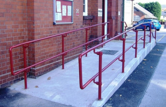 Disability Handrail for Wheelchair Ramps