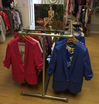 Double Clothing Rail-Uptown Girl Boutique