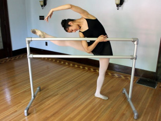 DIY Ballet Bar-Ideal for your Tiny Dancer