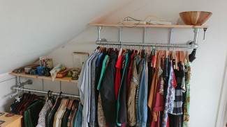 Utilising Space - Fixed Clothing Rail