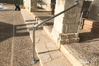 Simple External Handrails for Steps
