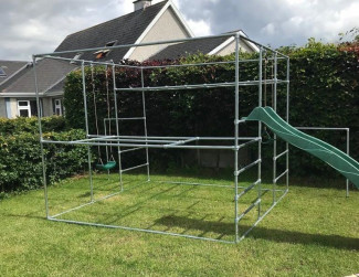 Customised Play & Climbing Frame With Monkey Bars