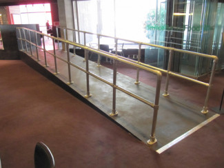 Simple Handrail For Ramps - Double Rail