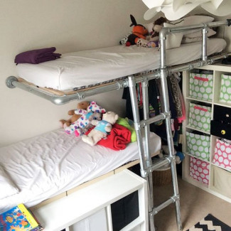 Simple Kee Klamp Bunk Beds