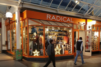 Radical Clothing - Store Clothing Rails
