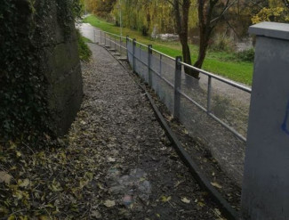 The River Walk. Outdoor Handrail For Arklow Tidy Towns