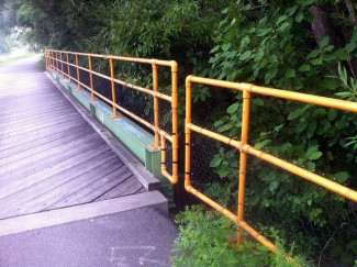Cycle Path Kee Klamp Safety Rail