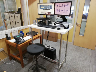 Customised Standing Desk - Saving My Back
