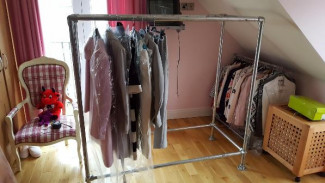 Strong Clothing Rail- Keeping Your Clothes Off The Floor