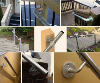 Easy to Install Wall Mounted Handrail Kits