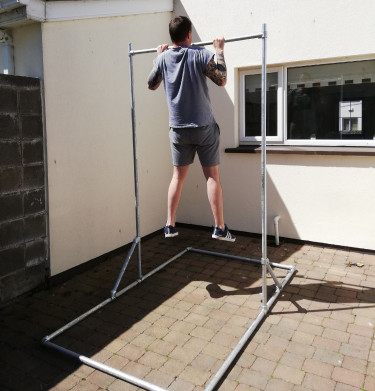 Free Standing Pull-Up Bar - Heavy Duty