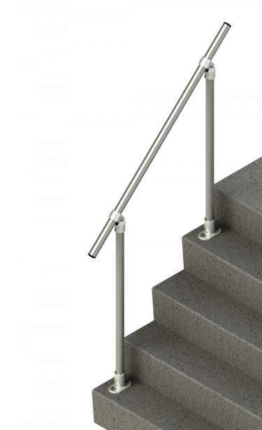 SR-C50 - Topfixed Inline Adjustable Stair Handrail