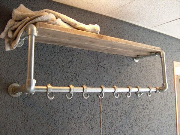 """""""Square"""" Floating Clothes Rail"""