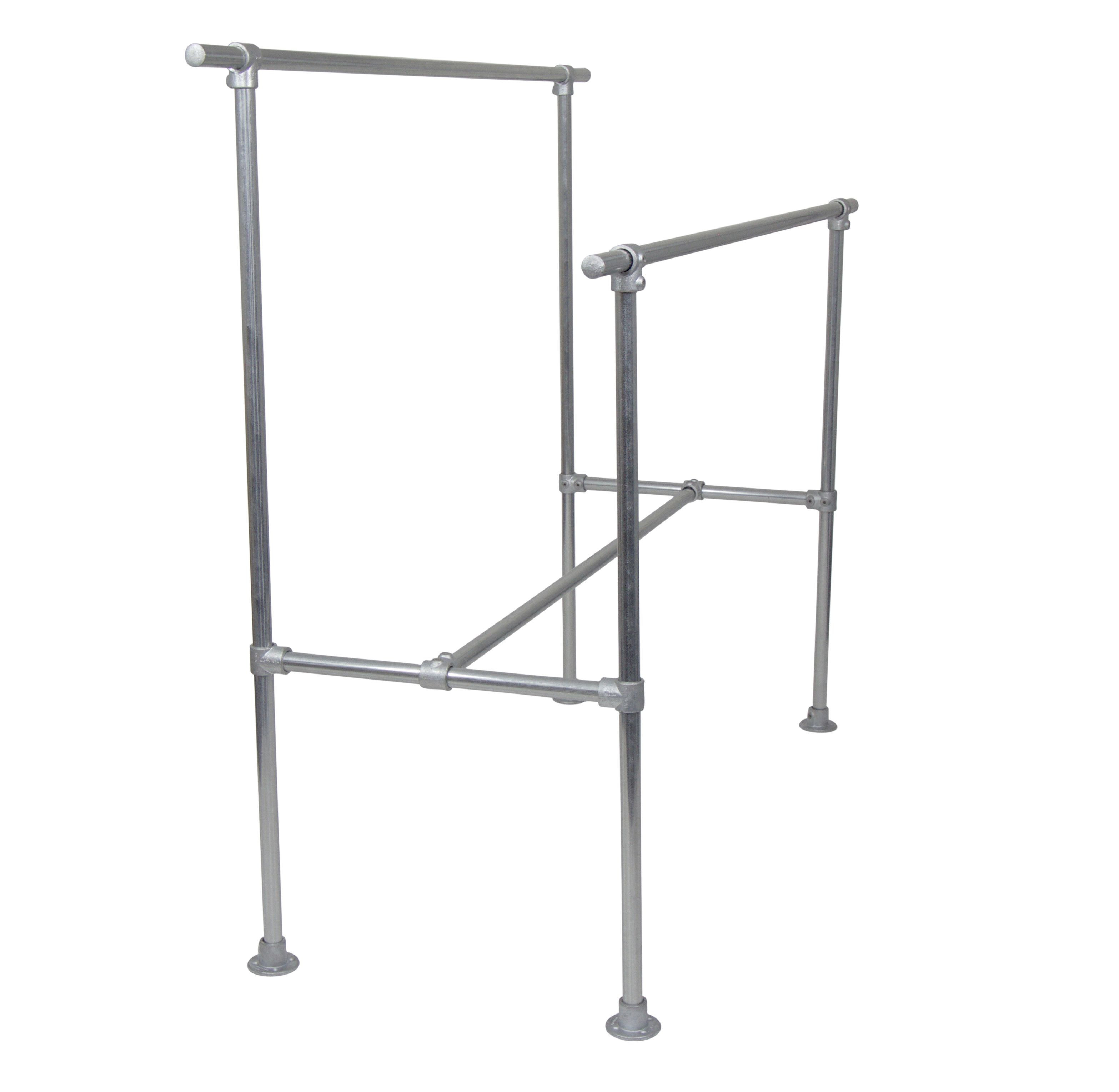Double Clothing Rail - H-Frame
