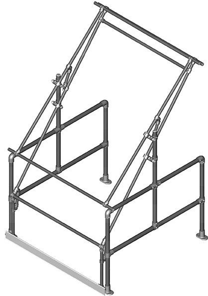 Tall Pallet Gate (for pallets 1300mm wide x 2250mm high)