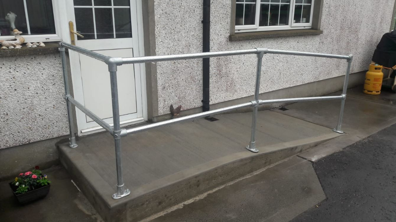 Kee Klamp Handrails For Ramps Simplified Building