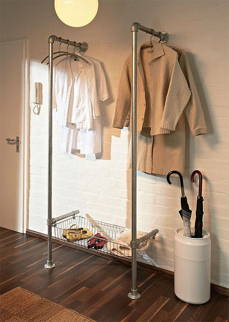 Heavy Duty Steel Clothes Rail