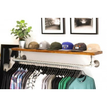 Floating Clothing Rail/Shelf Holder