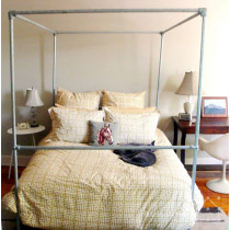 Steel Four Poster Bed Frame