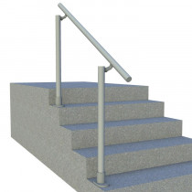 aluminium handrail for steps 1
