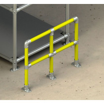 Protective Safety Barrier - Straight Run