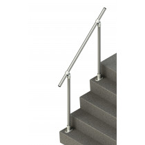 inline handrail for steps - adjustable 1