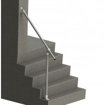SR-C50C58 - Adjustable Wall-to-Floor Accessibility Stair Handrail