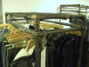 Freestanding Clothing Rail - Display