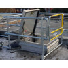 roof guardrail safety gate