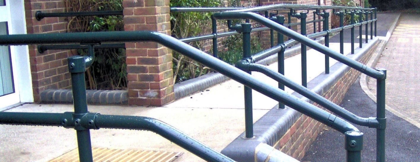 access handrail for ramp