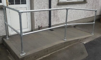 Considerations Of Access Ramps & Rails