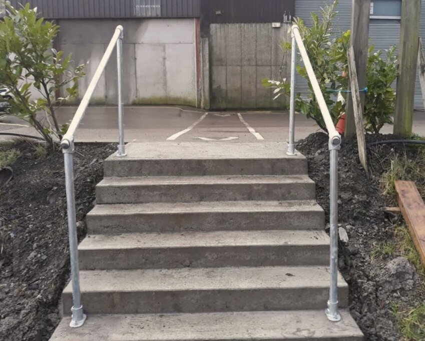 Ground Fixed Handrail For Steps
