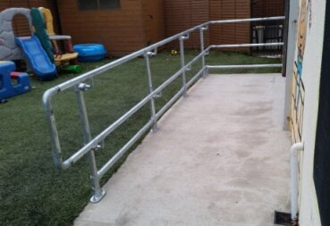 Disabled Access Handrail Fittings