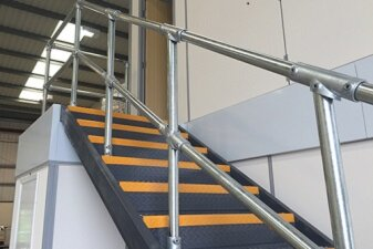 Steel Stair Handrail Fittings