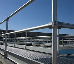aluminium safety barrier