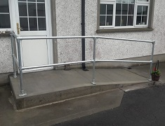 ramp handrail fittings