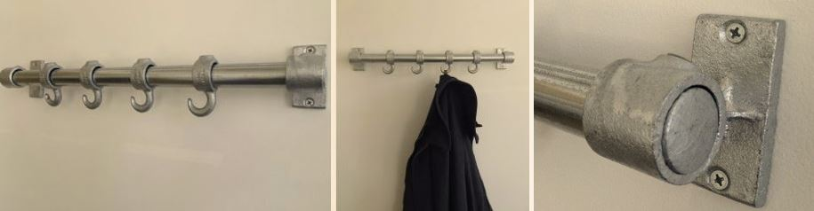 steel coat hanger