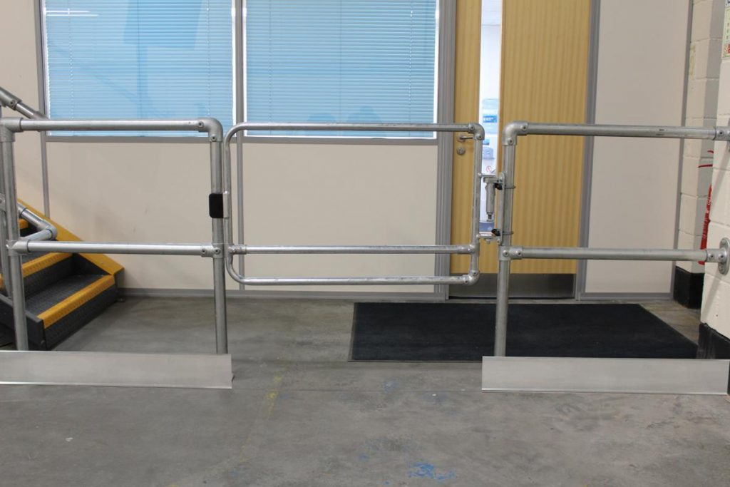 gate for handrail system