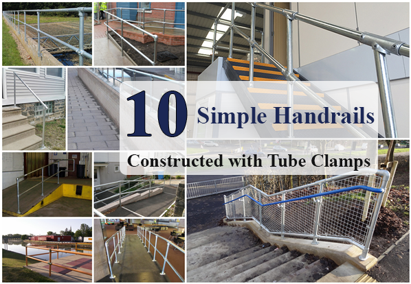 Simple Handrails - tube fittings