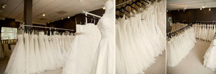 rails for wedding dresses