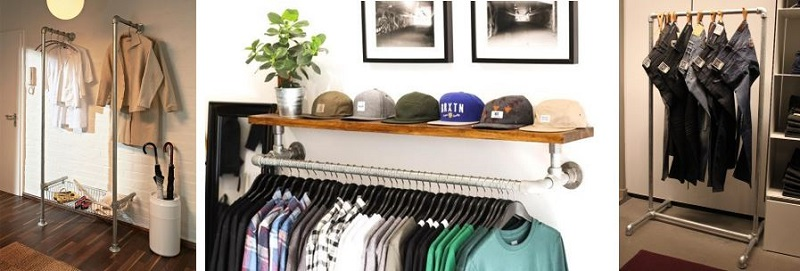 custom clothing rails