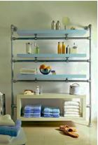 diy steel shelving