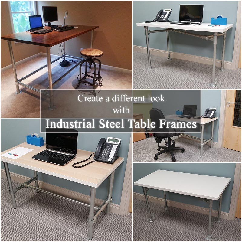 Custom Steel Table Frames