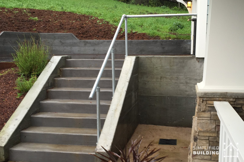 handrail for driveway
